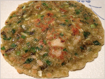 牡蠣の中華お好み焼き